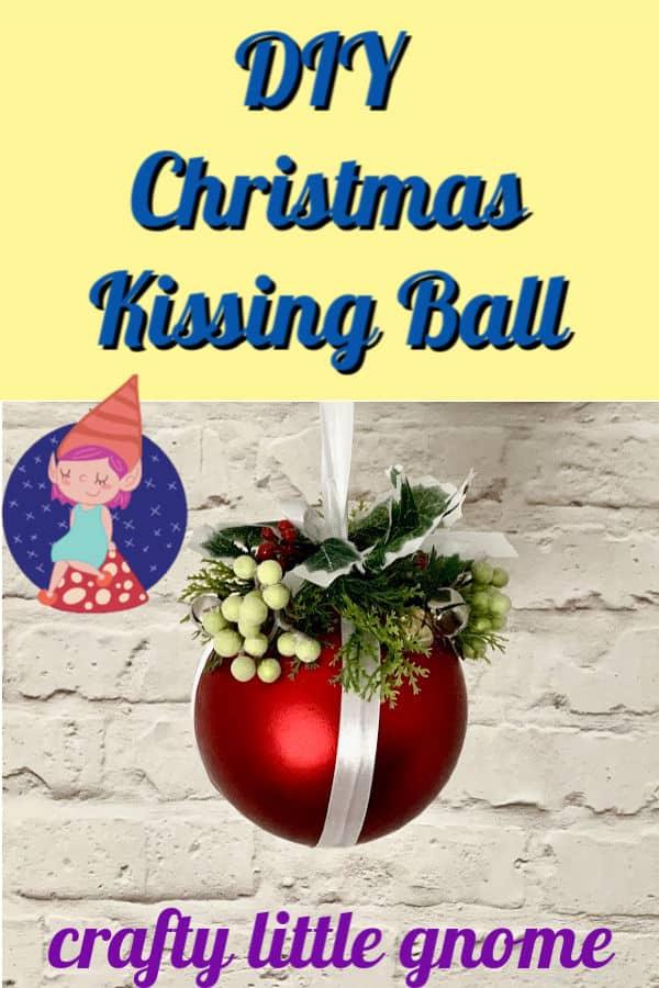diy kissing ball