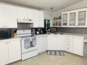 replacing kitchen cabinets after photo