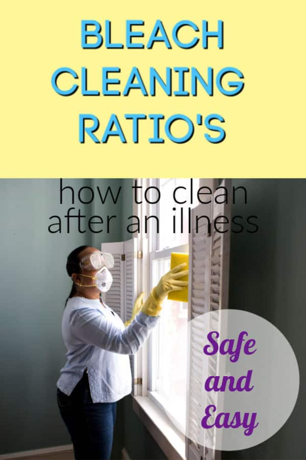 bleach cleaning solution