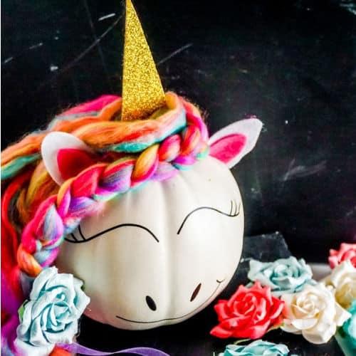 no carve unicorn finished