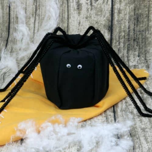 toilet paper spider craft