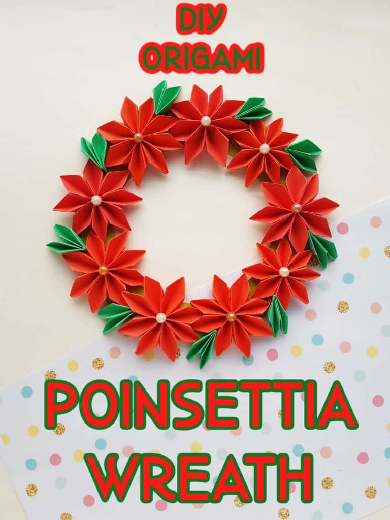 diy origami wreath