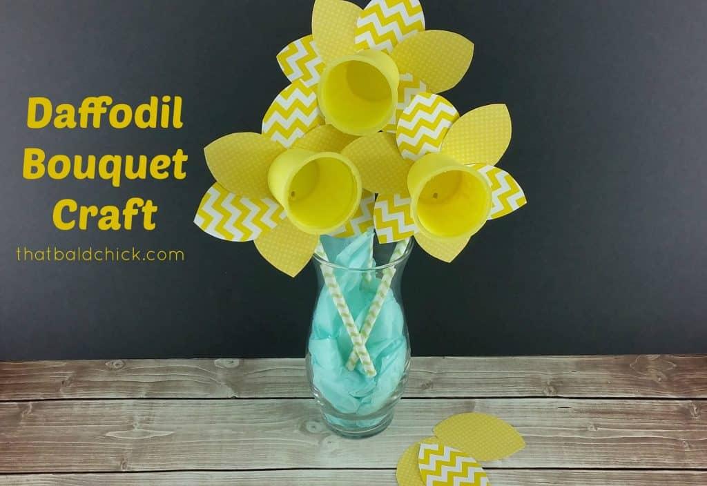 spring daffodil craft