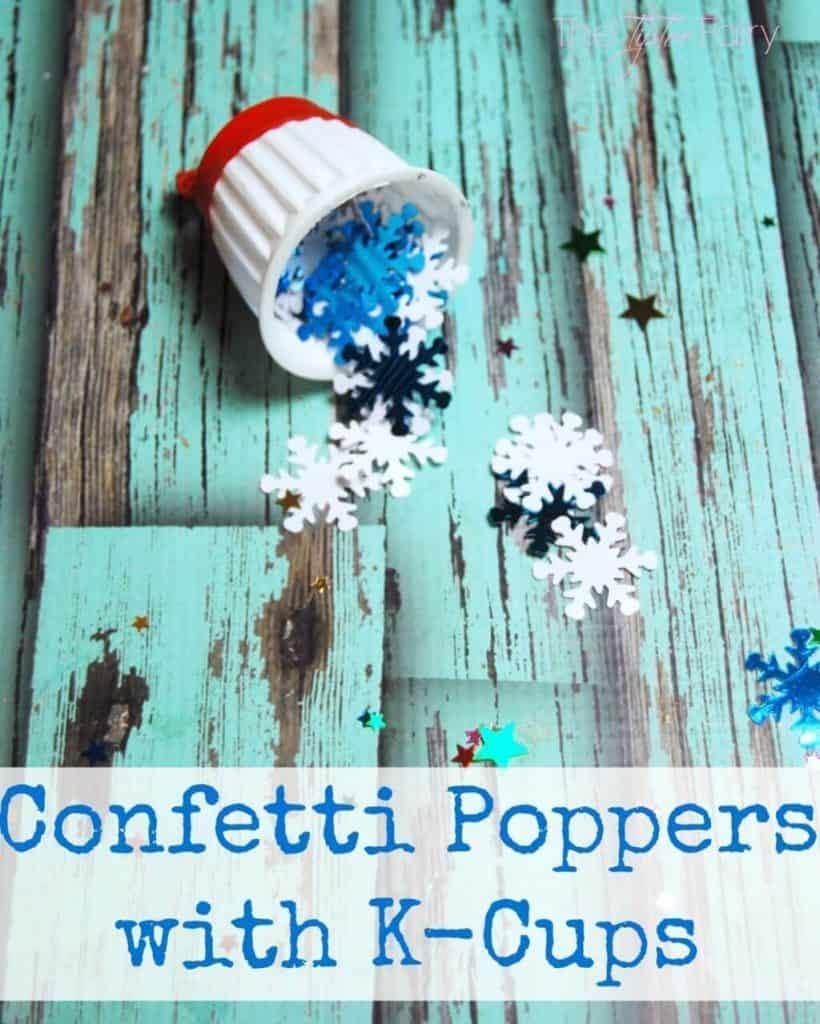confetti popper K cup