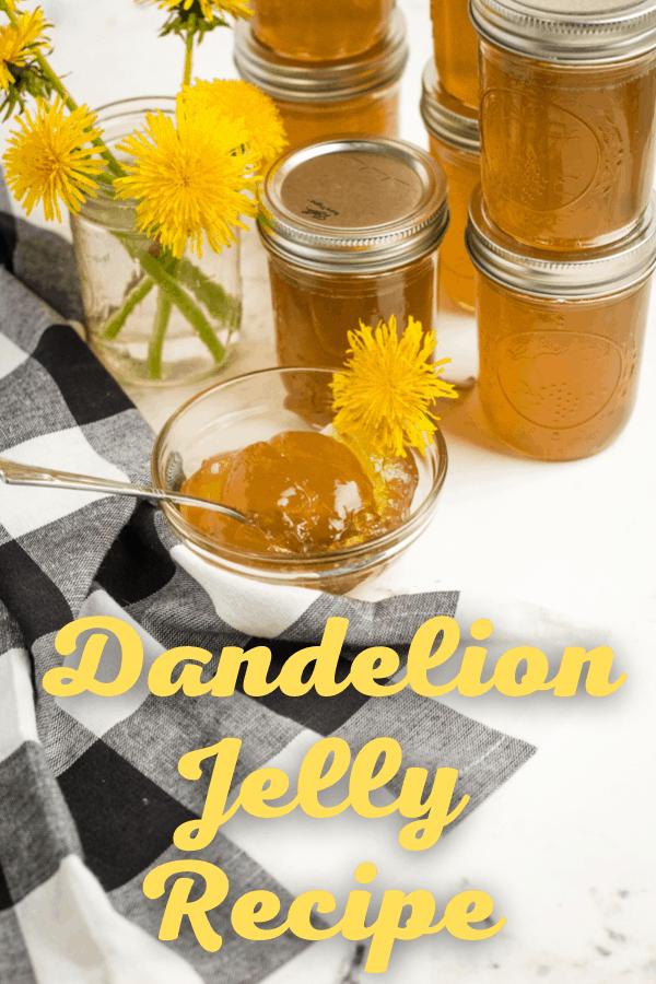 How to make dandelion jam.